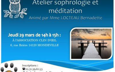 Association Clin d'Oeil : ateliers de sophrologie et méditation
