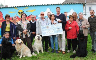 Article Ouest France – AG et remise de chèque Lion's Club Caen Léopards