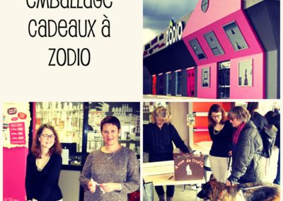 Action Emballage Cadeaux – Zodio 2018