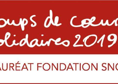 Coups de Cœur Solidaires 2019 – Fondation SNCF