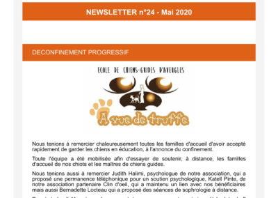 Newsletter n°24 – Mai 2020