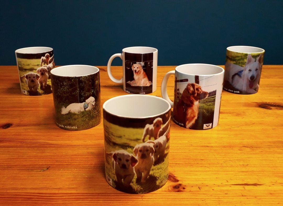 Nouveaux mugs de l'association