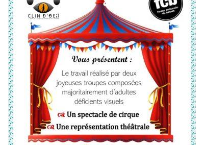 Représentations cirque et théâtre – Association Clin d'Oeil