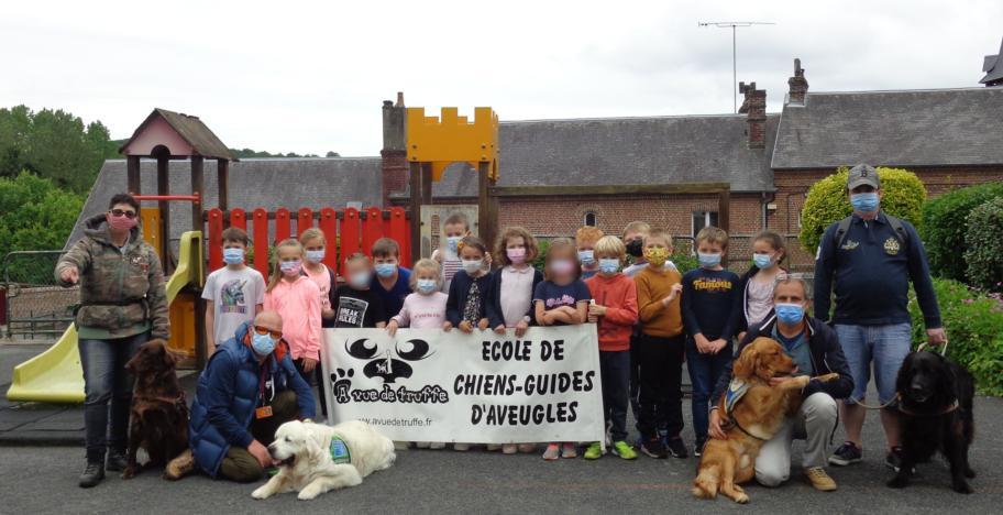 Sensibilisation à l'école de Courtonne-la-Meurdrac
